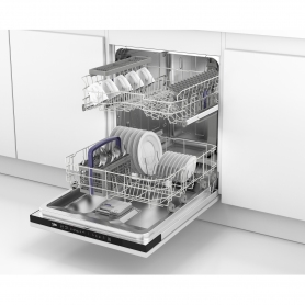 Beko Integrated Full Size Dishwasher - A Rated - 4