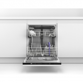 Beko Integrated Full Size Dishwasher - A Rated - 1