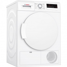 Bosch 8kg Condenser Tumble Dryer - White - B Rated - 0