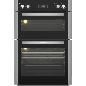 Blomberg Built In Electric Double Oven - Stainless Steel - A Energy Rated