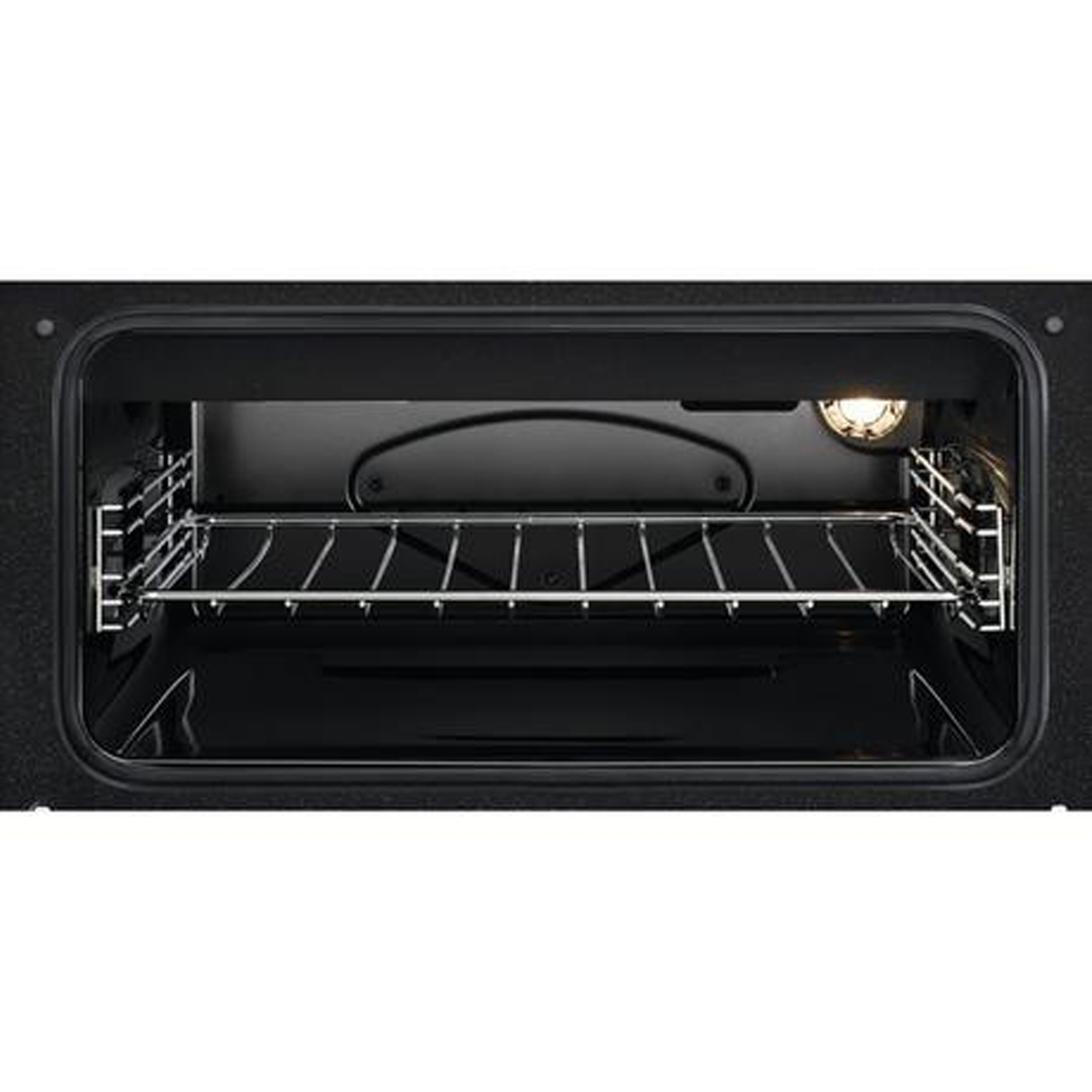 Zanussi 60cm Electric Double Oven with Ceramic Hob - White - A/A Rated - 2