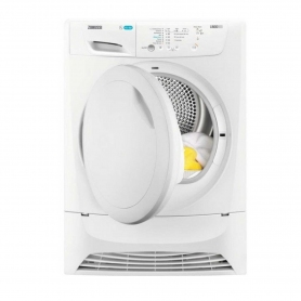 Zanussi 7kg Condenser Tumble Dryer - White - B Rated