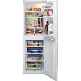 Hotpoint 55cm Fridge Freezer - White - A+ Energy Rated