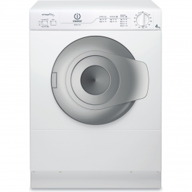 Indesit 4kg Vented Tumble Dryer - White - C Energy Rated