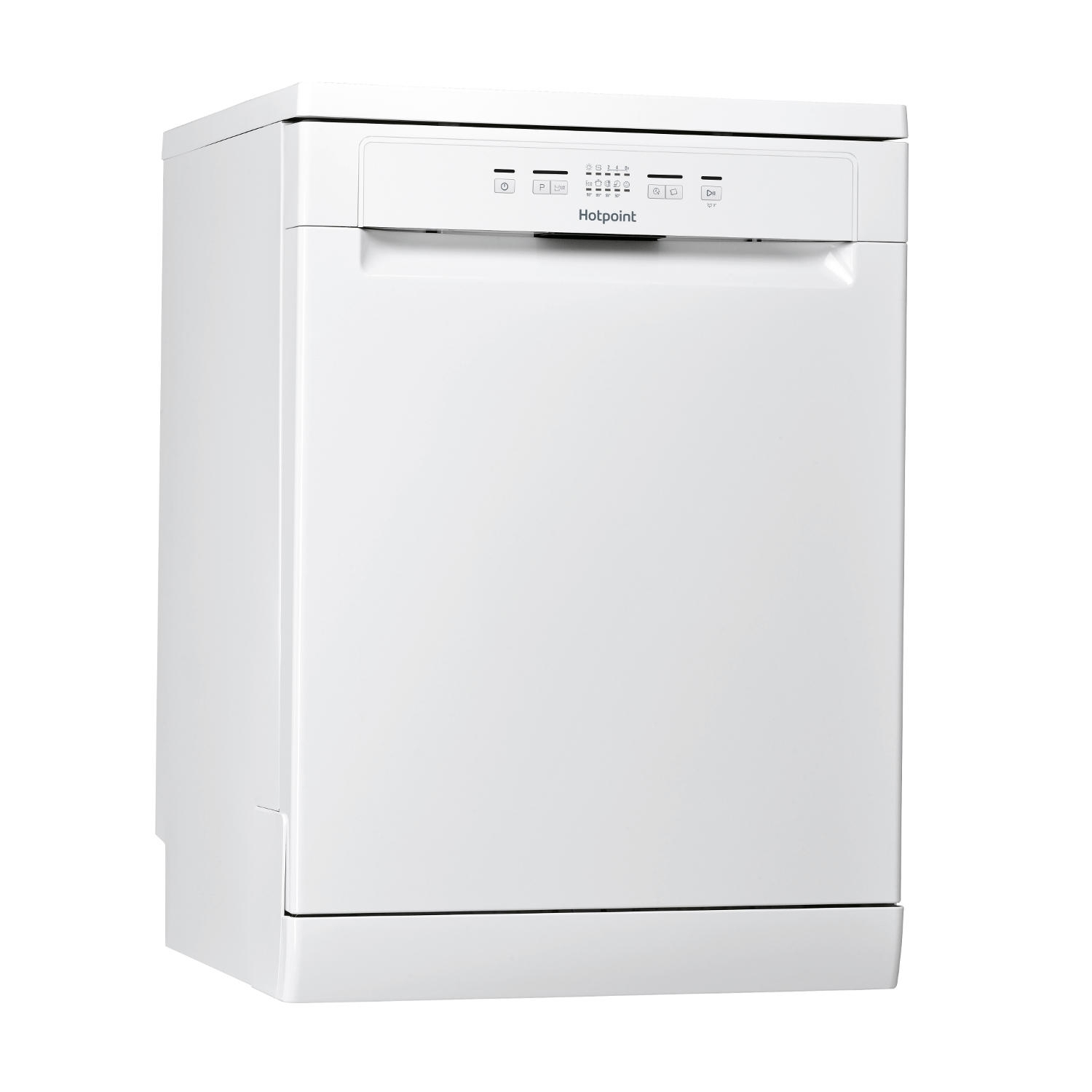 Hotpoint Full Size Dishwasher - White - A+ Rated - 1
