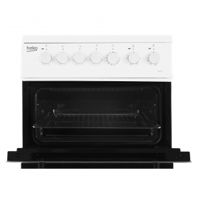 Beko 50cm Electric Double Oven with grill Cooker - White - A Energy Rated - 4