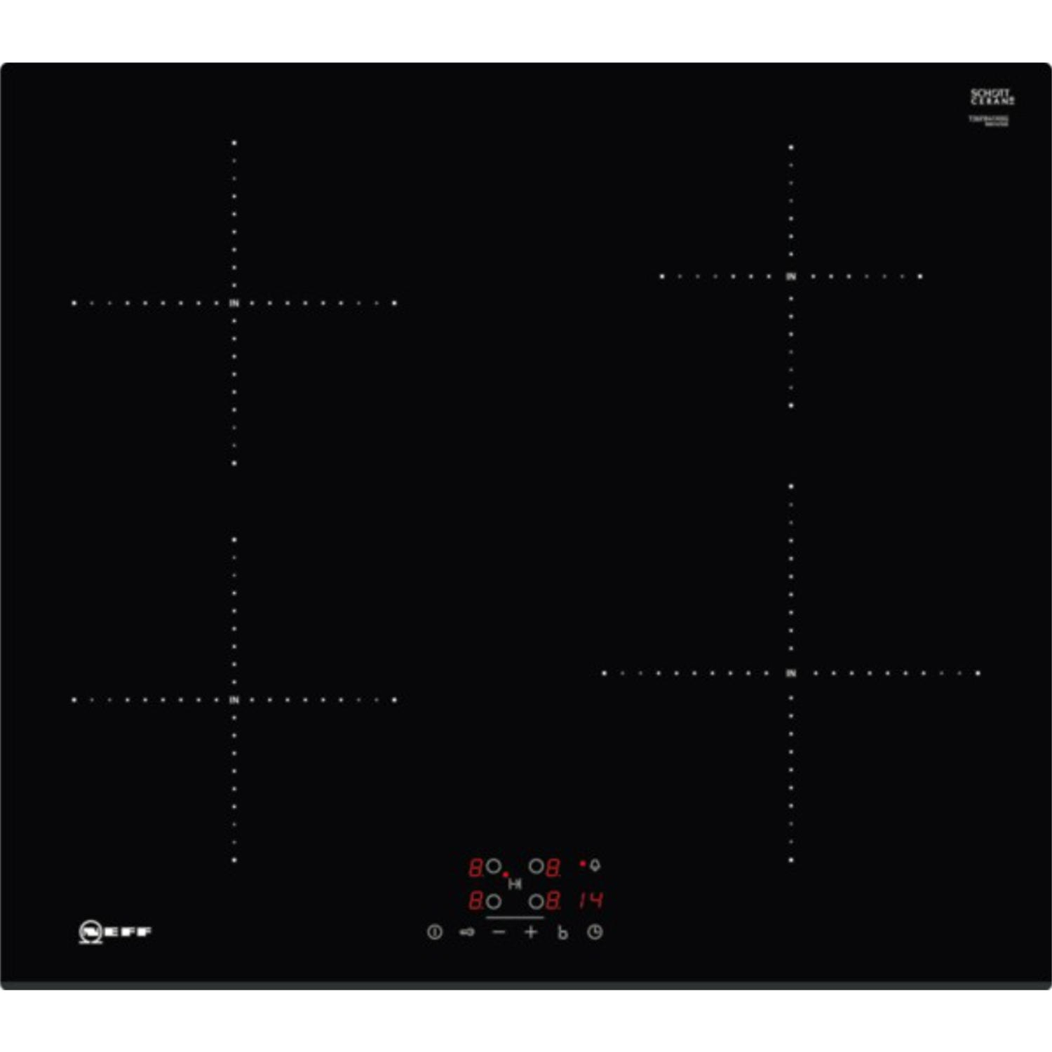 Neff 60cm Induction Hob - Black - 0