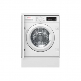 Bosch Integrated 8kg 1400 Spin Washing Machine - White - A+++ Energy Rated