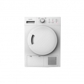 Montpellier 8kg Condenser Tumble Dryer - White - B Energy Rated - 0
