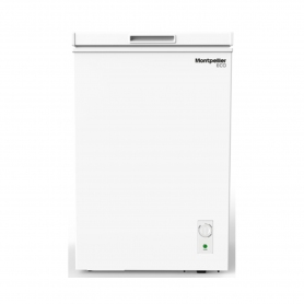 Montpellier Static Chest Freezer - White - A+ Energy Rated