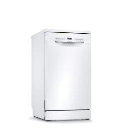 Bosch Slimline Dishwasher - White - 9 Place Settings