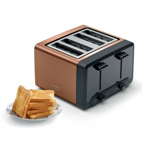 Bosch 4 Slice Toaster - Copper