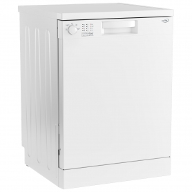 Zenith Full Size Dishwasher - White - A+ Energy Rated - 2