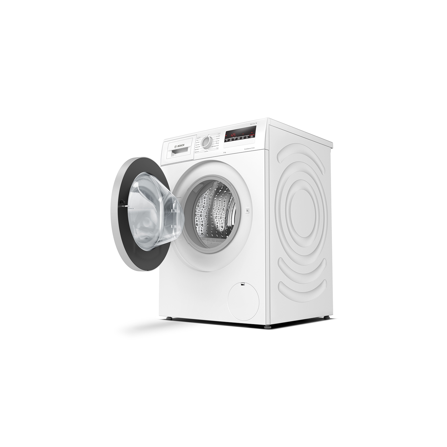 Bosch 8kg 1400 Spin Washing Machine - White - A+++ Rated - 3