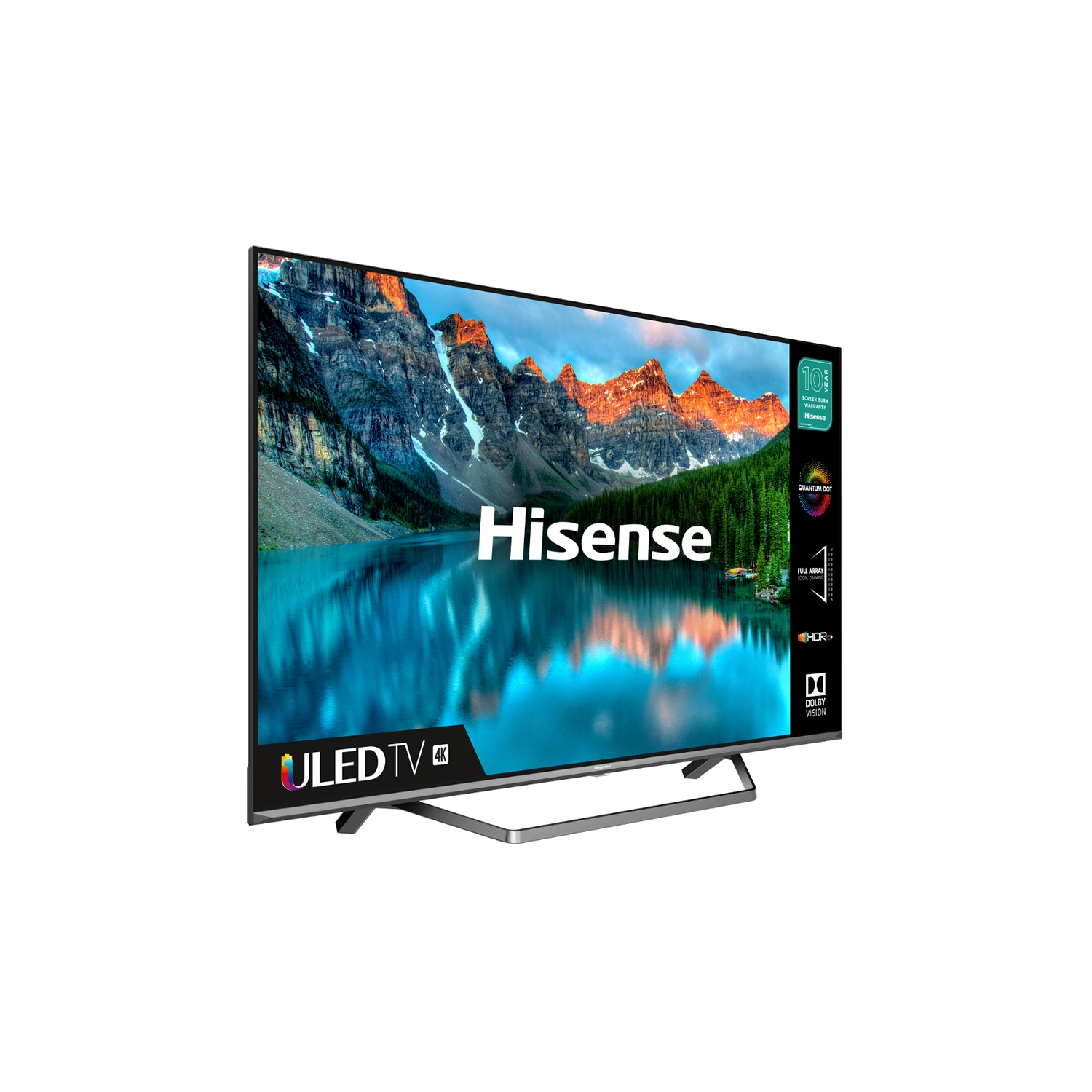 "Hisense 50U7QFTUK 50"" 4K Ultra HD LED Smart TV with Dolby Atmos & Dolby Vision - 1"