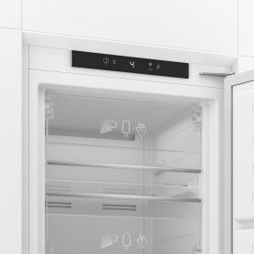 Blomberg 54cm Integrated Frost Free Tall Freezer - White - 1