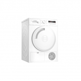 Bosch 8kg Heat Pump Tumble Dryer - White - A+ Energy Rated - 0
