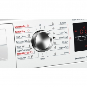 Bosch 7kg/4kg 1500 Spin Washer Dryer - White - A Rated - 1