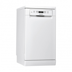 Hotpoint Slimline Dishwasher - White - 10 Place Settings