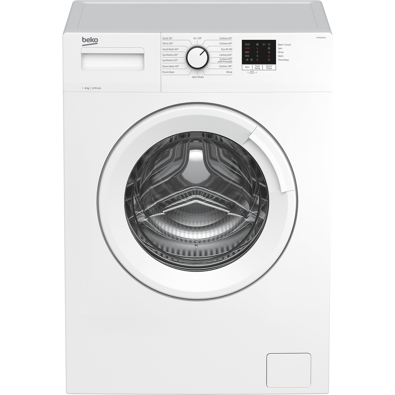 Beko 6kg 1200 Spin Washing Machine - White - A+++ Energy Rated - 0