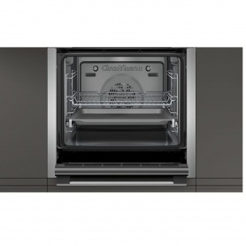 Neff SLIDE&HIDE® Built In Electric Single Oven - Stainless Steel - A Rated - 5
