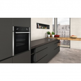 Neff SLIDE&HIDE® Built In Electric Single Oven - Stainless Steel - A Rated - 3