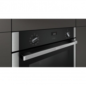 Neff SLIDE&HIDE® Built In Electric Single Oven - Stainless Steel - A Rated - 2