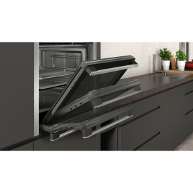 Neff Slide & Hide Built In Electric Single Oven - Stainless Steel - A Rated
