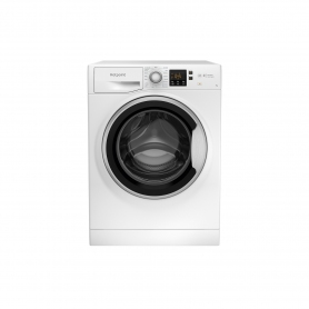 Hotpoint NSWE742UWSUKN 7kg 1400 Spin Washing Machine with Steam Hygiene - White