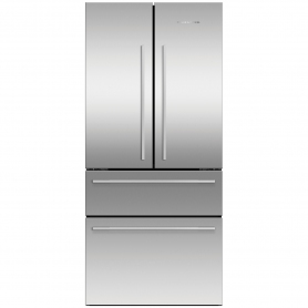 Fisher & Paykel RF523GDX1 Frost Free Multi Door Fridge Freezer - Stainless Steel
