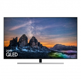 "Samsung 55 "" QLED SMART TV - Silver - B Energy Rated"