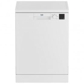 Beko Full Size Dishwasher - White - 13 Place Settings