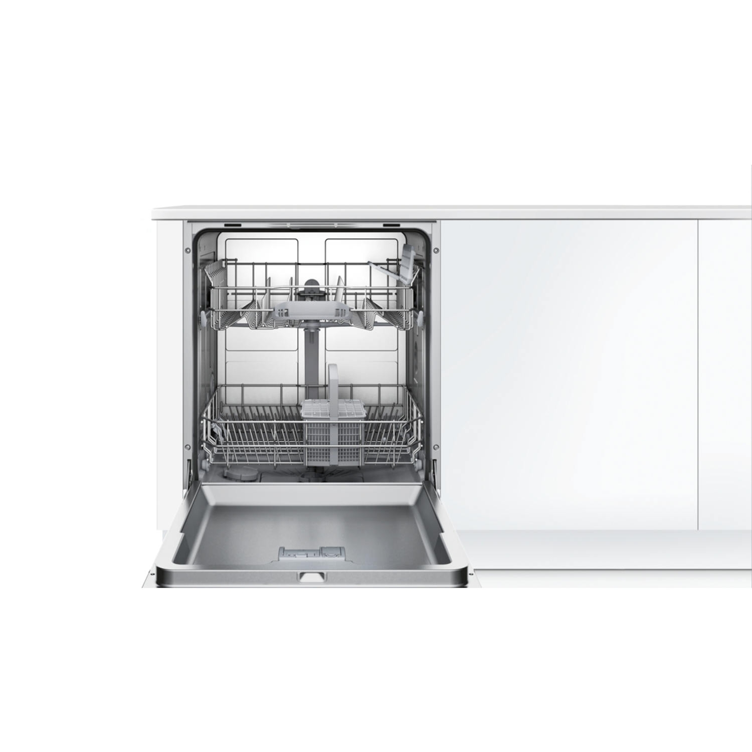 Bosch Integrated Full Size Dishwasher - Black Control Panel - A+ Rated - 4
