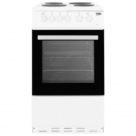 Beko 50cm Single Oven Electric Cooker - A Rated