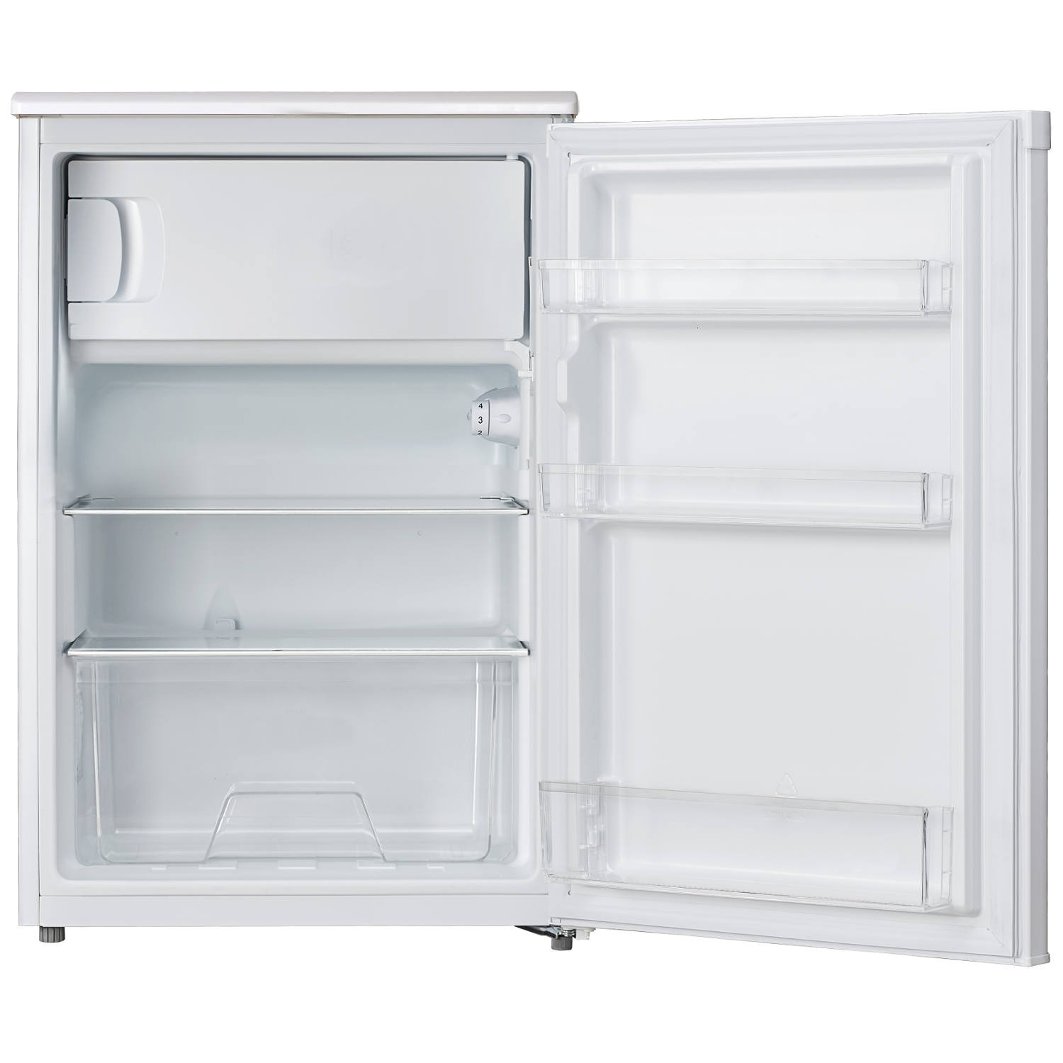 Lec 55cm Undercounter Fridge - White - 1