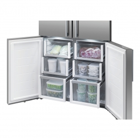 Fisher & Paykel Frost Free Multi Door Fridge Freezer - Stainless Steel - A+ Energy Rated - 1