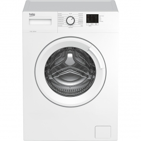 Beko WTK82041W 8kg 1200 Spin Washing Machine with Quick Programme - White - 0