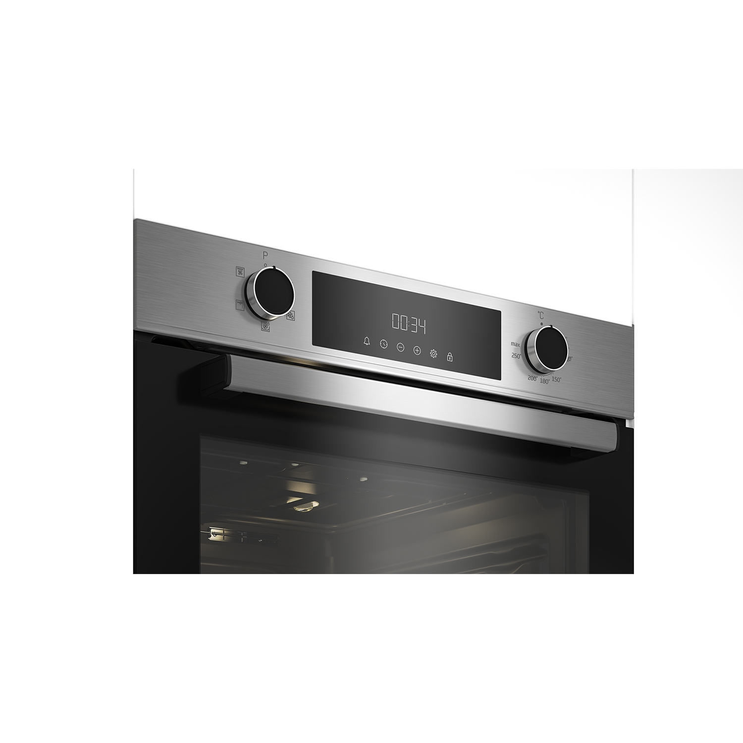 Beko CIFY81X AeroPerfect™ Built In Electric Single Oven - Stainless Steel - 2