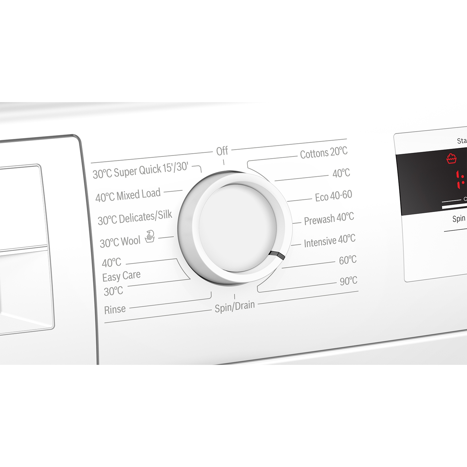 Bosch WAN28081GB 7kg 1400 Spin Washing Machine with EcoSilence Drive - White - 2