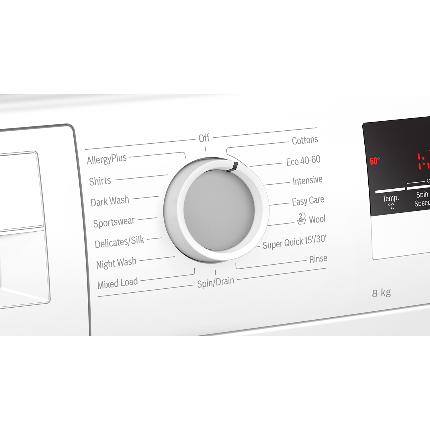 Bosch 8kg 1400 Spin Washing Machine - White - A+++ Rated - 2