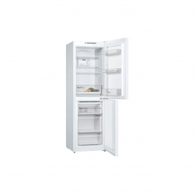 Bosch Frost Free Fridge Freezer - White - A++ Energy Rated