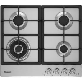 Blomberg 58cm Gas Hob - Stainless Steel