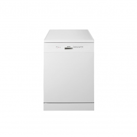 Smeg DF13E2WH Full Size Dishwasher - White - 13 Place Settings