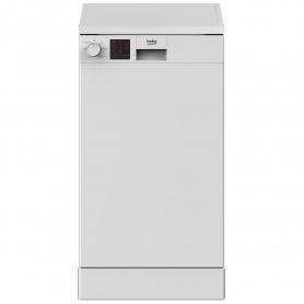Beko Slimline Dishwasher - White - 10 Place Settings