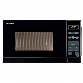 Sharp 20 Litre Solo Microwave - Black