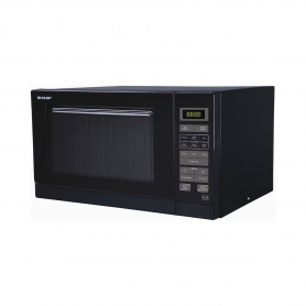 Sharp 25 Litre Solo Microwave - Black