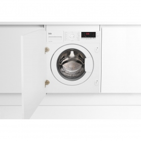 Beko 7kg 1400 Spin Integrated Washing Machine with Fast+ Function - White