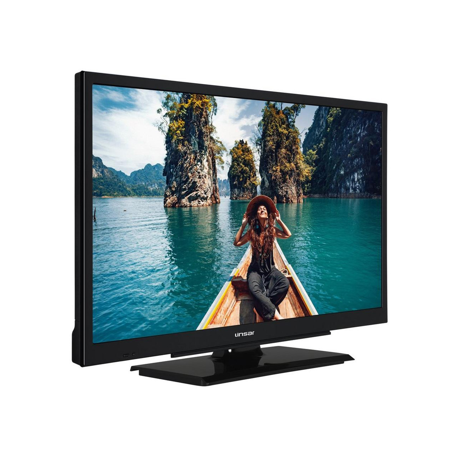 "Linsar 24"" HD LED TV - Freeview Play  - 3"