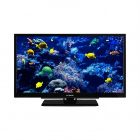 "Linsar 24"" HD Ready TV with Integrated DVD and Freeview HD- Black - A+ Rated"