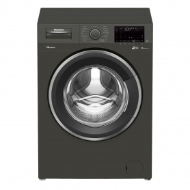 Blomberg 8kg 1400 Spin Washing Machine with Fast Full Load - Graphite